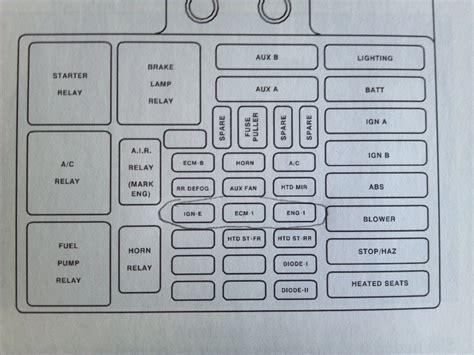 01 Chevy Truck Fuse Box by Wrg 3991 2005 Tahoe Fuse Box Diagram