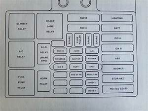 Fuse Diagram 2003 Chevy 1500