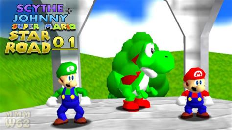Lets Play Super Mario 64 Star Road Co Op 1 Mod V11