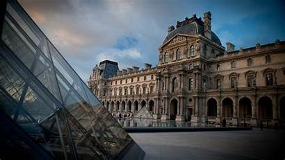 Louvre Paris France Wallpapers Cool Building Desktop