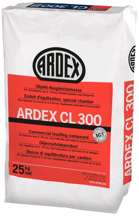Spachtelmasse Für Feuchträume by Ardex Bodenspachtelmassen Ardex Cl 300