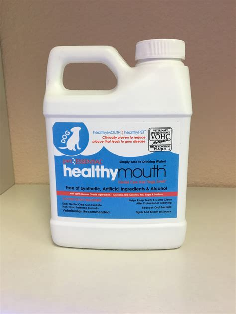 healthy mouth water additive veterinary dentistry