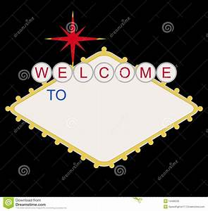blank welcome to las vegas sign stock illustration image With welcome to las vegas sign template