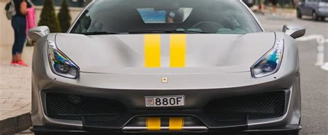 Ferrari limited edition on instagram pure black pista just how i. Matte Grey Ferrari 488 Pista with Yellow Stripes Is Not a Tame Spec - autoevolution