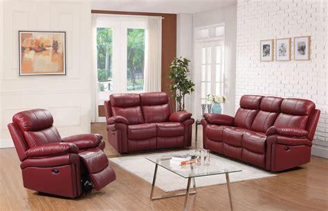 Shae Joplin Red Leather Power Reclining Living Room Set