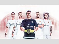Real Madrid 20152016 Wallpaper Work by dreamgraphicss