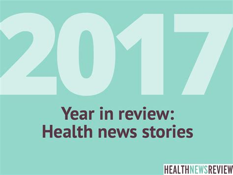 2017 Journalism Report Card From Healthnewsreview.org