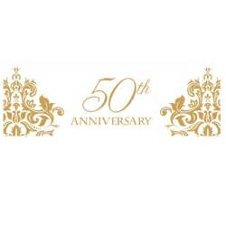 50 wedding anniversary happy 50th anniversary clipart clipartsgram