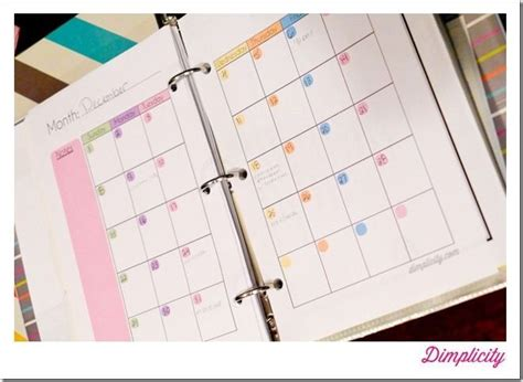 Mini Binders Printables! This Girls Blog Is Pretty Cool If