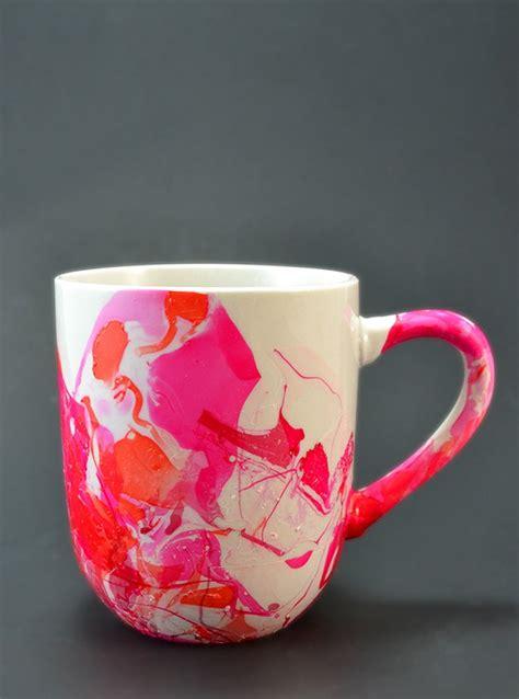 Marbled Love Mugs   Mom Spark   Mom Blogger