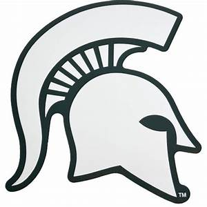 Michigan state university coloring pages michigan state for Spartan mask template