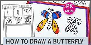 Easy Instructions On How To Draw A Butterfly In 2020