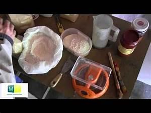 fabriquer peinture a la chaux youtube peinture With peinture a la chaux recette