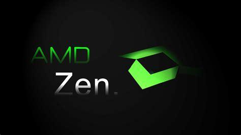 nuevos procesadores amd zen
