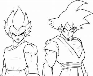 Goku Coloring Pages To Print - AZ Coloring Pages