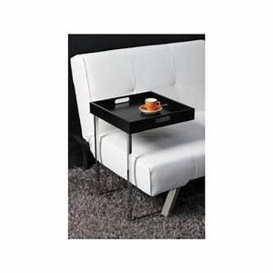 Table D Appoint Canapé : table d 39 appoint carr e noir eve achat vente bout de ~ Teatrodelosmanantiales.com Idées de Décoration