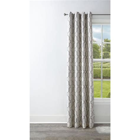 thermal drapes lowes style selections amhurst 84 in polyester grommet