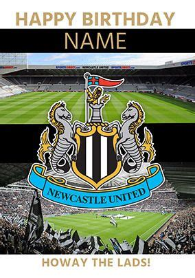 View newcastle united fc scores, fixtures and results for all competitions on the official website of the premier league. Newcastle United - Birthday Crest | Funky Pigeon