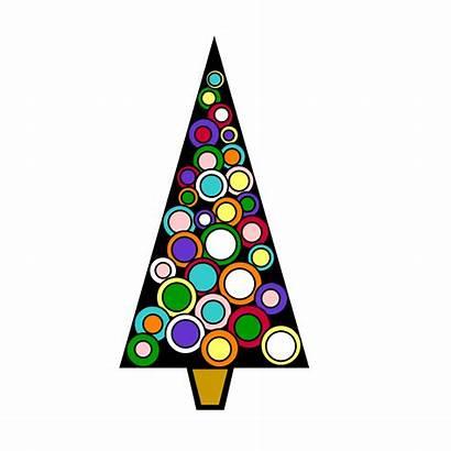 Christmas Modern Clip Clipart Tree Designs