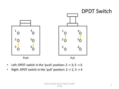 series parallel wiring diagram   conductor humbucker