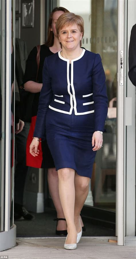 Theresa May's fashion face-off with Nicola Sturgeon ...