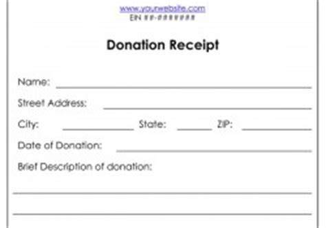 official donation receipt  income tax purposes