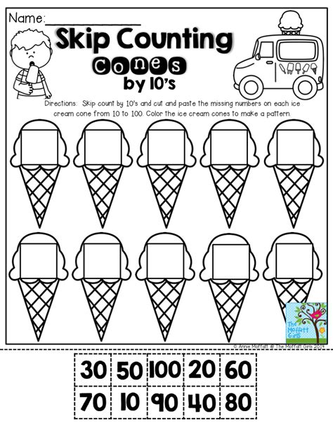 summer review packets  images math counting