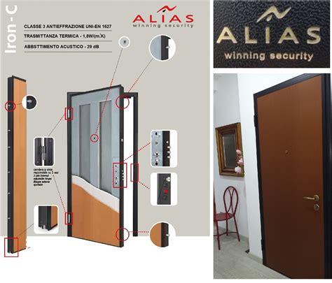 Porta Blindata Alias by Porta Blindata Alias Mod Iron C Classe Rc3 Antieffrazione