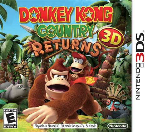 Donkey Kong Country Returns 3d Super Mario Wiki The