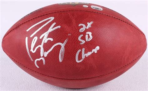 Peyton Manning Signed Le The Duke Official Nfl Game Ball