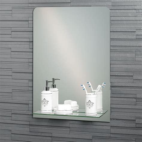 buy frameless rectangular rochester bathroom mirror