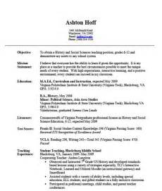 elementary resume with no experience substitute resume no experience by ashton hoff