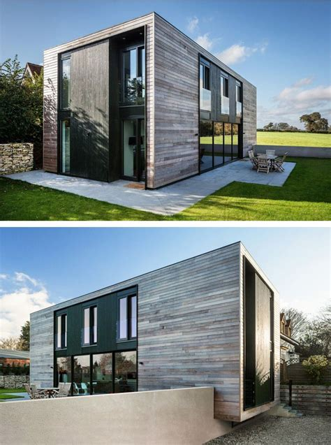 low budget minimalist house architecture adrian james architects have designed the sandpath house a flat pack house for a client with