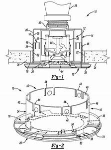 Patent Us8176987 - Self-aligning Cover Spring For A Concealed Sprinkler