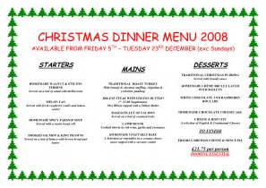 christmas dinner menu ideas happy holidays