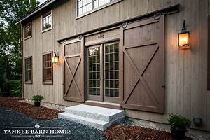 barn style home stuns the grantham lakehouse With barn style front entry door