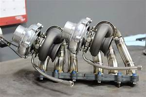 Docrace 2jzgte Twin Turbo Manifold Tial V