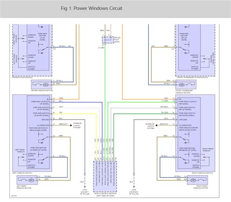 Power Window Wiring Diagram Manual by Power Window Wiring Diagram It Has Manual Locks And