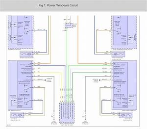 Power Window Wiring Diagram  It Has Manual Locks And Windows  I