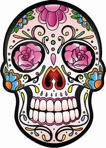 Crane Mexicain Dessin : sticker calavera tete de mort mexicaine 5 mpa d co autocollants calavera ~ Melissatoandfro.com Idées de Décoration