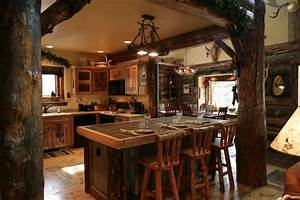 Targhee log cabin home rustic luxury cabins plans ideas for Interior paint colors for rustic homes