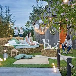 Mariage champetre marie claire for Decoration pour jardin exterieur 4 decoration salon oriental
