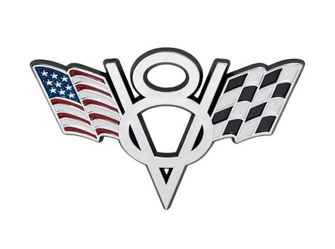 ford mustang truck american checkered flags   chrome