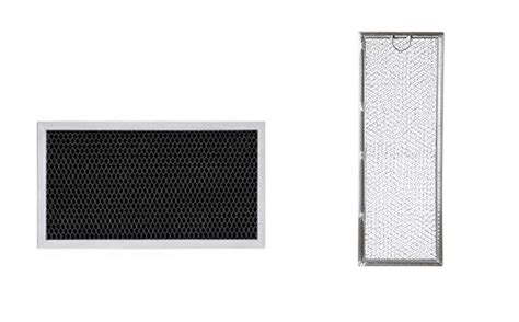 Range Hood Microwave Vent Grease Filter & Charcoal Filter