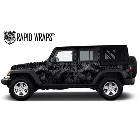 Kryptek Vinyl Boat Wrap by Kryptek Camo Vehicle Wrap Kits