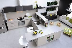 Comment choisir sa cuisine en 5 points travauxcom for Table de salle a manger modulable pour petite cuisine Équipée