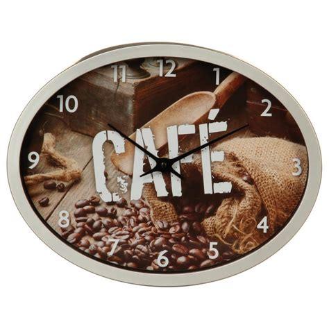 pendule cuisine pendule de cuisine quot grain de café quot gris