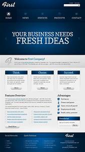 Free Website Template - Efficient Start Of Your Business