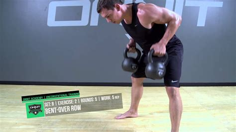 kettlebell workout double heavy strength