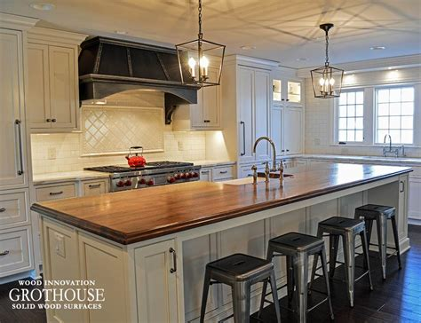 kitchen countertops island distressed walnut kitchen island counter in twinsburg oh 4321